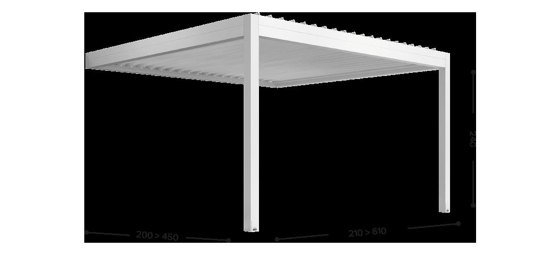 Configurazione addossata laterale